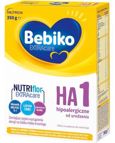 Bebiko 1 HA NutriFlor+ mleko w proszku hipoalergiczne dla dzieci 0+ 350 g [Data ważności 17-11-2018]