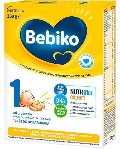 Bebiko 1 Nutriflor Expert mleko początkowe od urodzenia 350 g