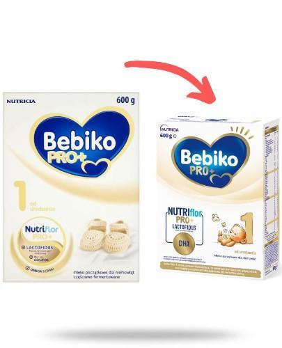 Bebiko 1 NutriFlor Pro+ mleko w proszku dla dzieci 0m+ 600 g