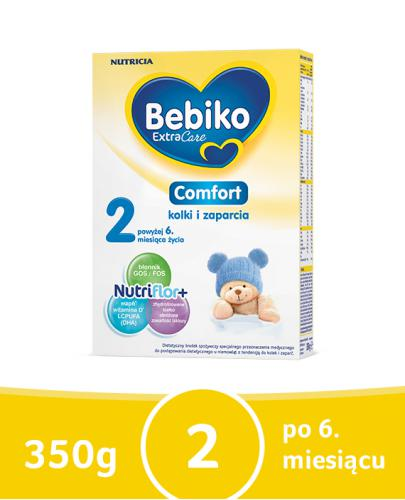 Bebiko 2 Comfort NutriFlor+ na kolki i zaparcia dla dzieci 6+ 350 g [Data ważności 31-01-2019]