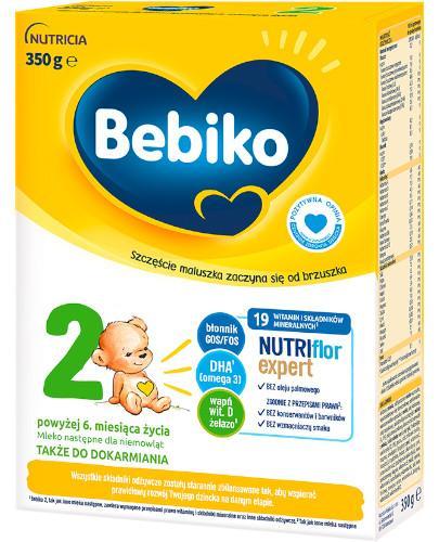 Bebiko 2 Nutriflor Expert mleko następne po 6. miesiącu 350 g