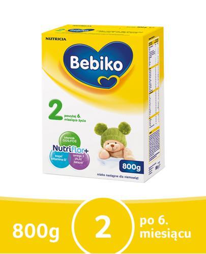 Bebiko 2 mleko następne po 6. miesiącu 800 g