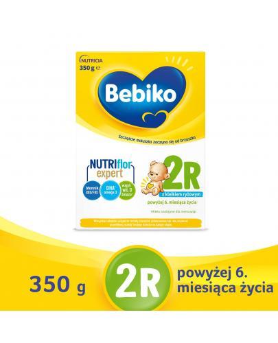Bebiko 2R NutriFlor+ mleko w proszku z kleikiem ryżowym dla dzieci 6m+ 350 g