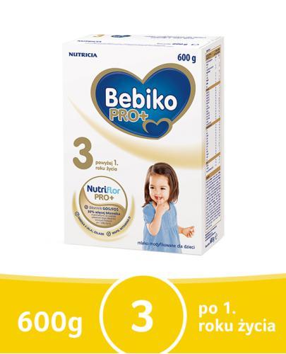 Bebiko 3 NutriFlor Pro+ mleko w proszku dla dzieci 12m+ 600 g