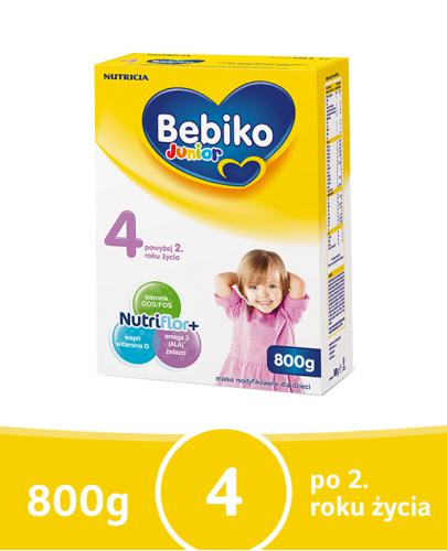 Bebiko 4 Junior mleko modyfikowane powyżej 2 roku życia 800 g