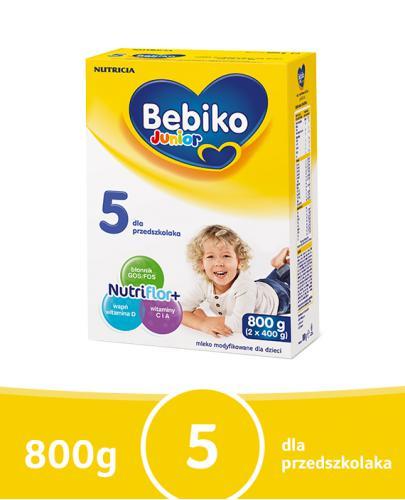 Bebiko 5 Junior mleko modyfikowane powyżej 3 roku życia 800 g