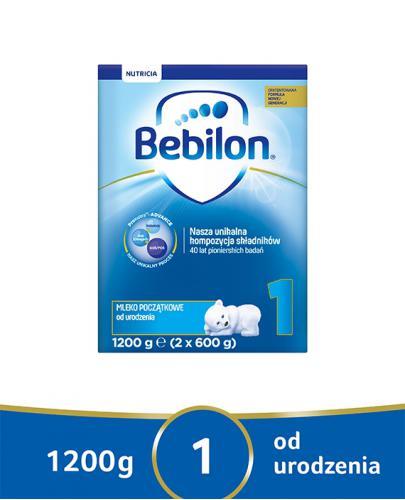 Bebilon 1 Pronutra-Advance mleko początkowe od urodzenia 1200 g