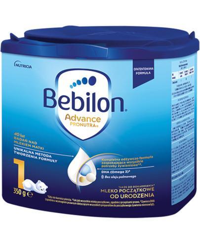 Bebilon 1 Pronutra-Advance mleko początkowe od urodzenia 350 g