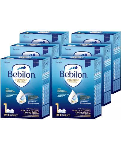Bebilon 1 Pronutra Advance mleko początkowe od urodzenia 6 x 1100 g [SZEŚCIOPAK]