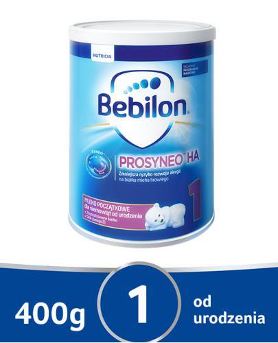Bebilon 1 Prosyneo HA mleko początkowe dla niemowląt od urodzenia 400 g