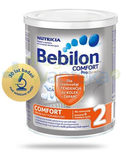 Bebilon 2 Comfort z ProExpert mleko w proszku dla dzieci 6m+ 400 g