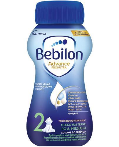Bebilon 2 Pronutra Advance mleko modyfikowane po 6. miesiącu 200 ml