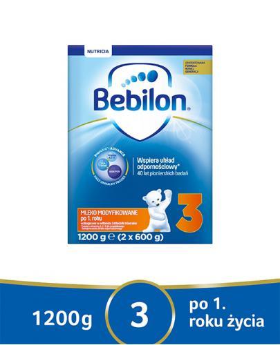 Bebilon 3 Pronutra-Advance mleko modyfikowane po 1. roku 1200 g