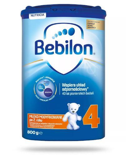 Bebilon 4 Junior z Pronutra+ mleko w proszku dla dzieci 2+ 800 g  [Data ważności 23-07-2019]