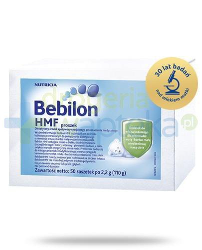 Bebilon HMF proszek dla dzieci 0m+ 50 saszetek