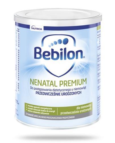 Bebilon Nenatal Premium z Pronutra mleko dla wcześniaków 400 ml