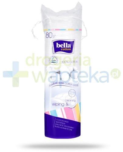 Bella Cotton bawełniane płatki kosmetyczne 80 sztuk
