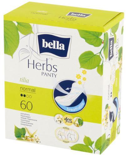 Bella Panty Herbs Tilia podpaski higieniczne wzbogacone kwiatem lipy 60 sztuk