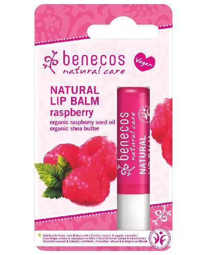 Benecos naturalny balsam do ust Malina 4,8 g
