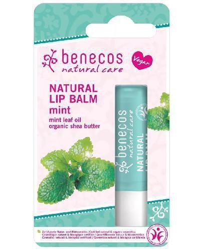 Benecos naturalny balsam do ust Mięta 4,8 g