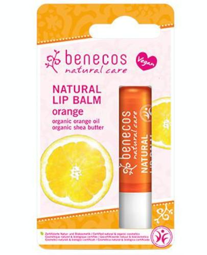 Benecos naturalny balsam do ust Pomarańcza 4,8 g