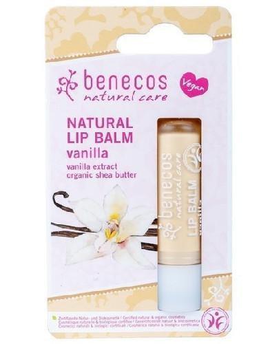 Benecos naturalny balsam do ust Wanilia 4,8 g