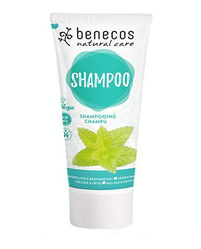 Benecos naturalny szampon Pokrzywa&Melisa 200 ml
