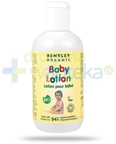 Bentley Organic Baby Care mleczko nawilżające do ciała z rumiankiem, aloesem i witami...