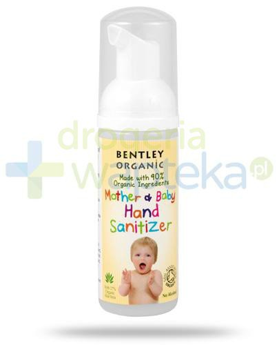 Bentley Organic Baby Care pianka anybakteryjna do mycia rąk 50 ml