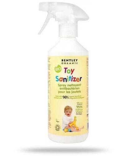 Bentley Organic Baby Care spray antybakteryjny do mycia zabawek 500 ml