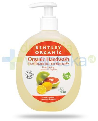 Bentley Organic detoksykujące mydło w płynie z grejpfrutem, cytryną i wodorostami 250 ml