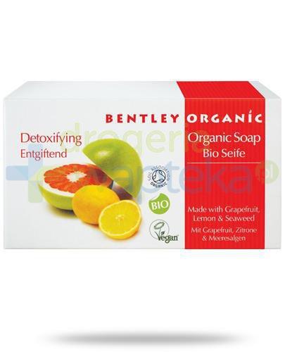 Bentley Organic detoksykujące mydło z grejpfutem, cytryną i wodorostami 150 g