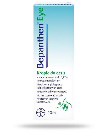 Bepanthen Eye nawilżające krople do suchych oczu 10 ml