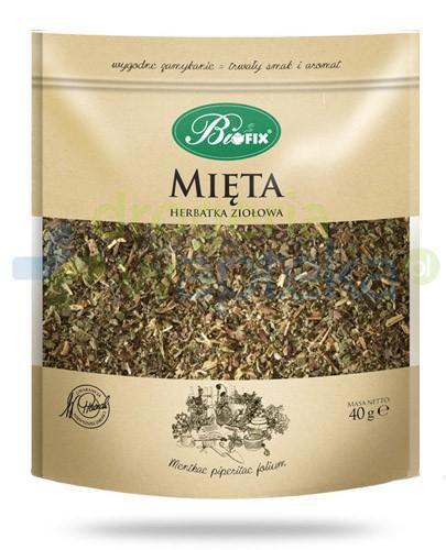 BiFix Monozioła Mięta herbatka ziołowa 40 g