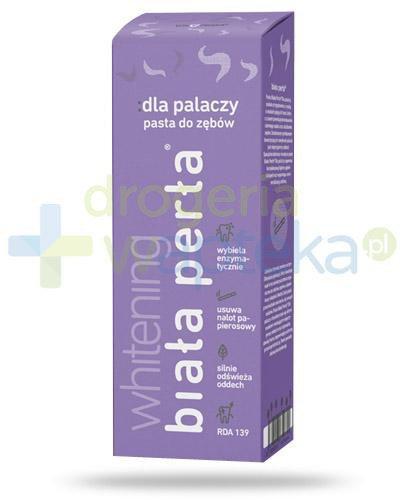 Biała Perła Whitening Dla palaczy pasta wybielająca zęby 75 ml  whited-out