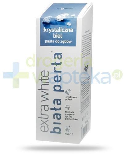 Biała Perła Extra White Krystaliczna biel pasta do zębów 75 ml  whited-out