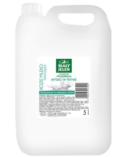 Biały Jeleń Kozie mleko mydło w płynie 5000 ml