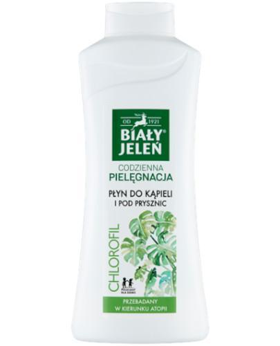 Biały Jeleń płyn do kąpieli z chlorofilem i pantenolem do skóry wrażliwej 750 ml