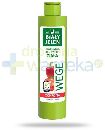 Biały Jeleń Wege Ochrona Fitokoktajl do mycia ciała pomidor i papryka 250 ml