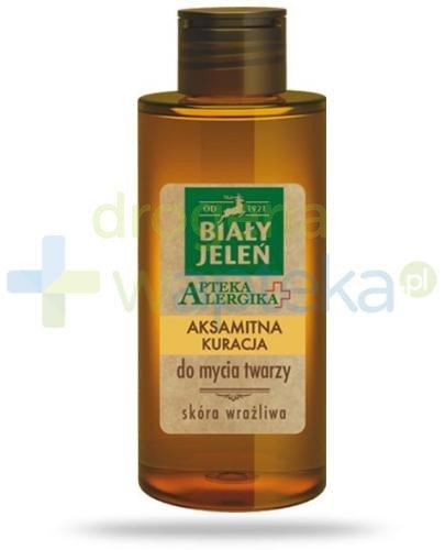 Biały Jeleń Apteka alergika Aksamitna kuracja żel do mycia twarzy 150 ml