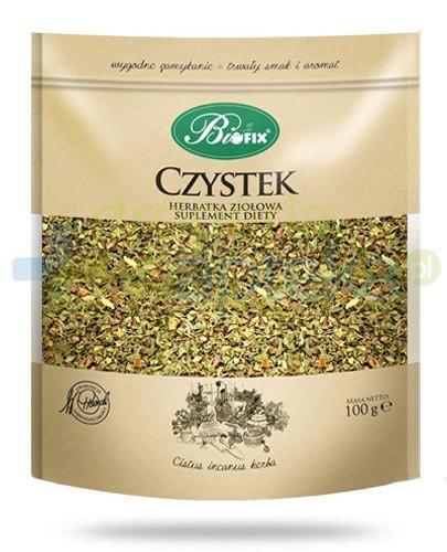 BiFix Monozioła Czystek herbatka ziołowa 100 g