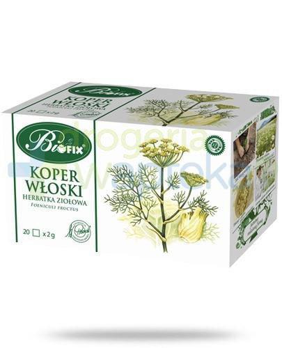 BiFix Koper włoski herbatka ziołowa 20 torebek