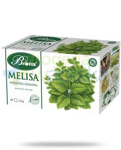 BiFix Melisa herbatka ziołowa 20 torebek