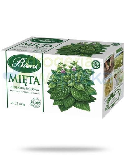 BiFix Mięta herbatka ziołowa 20 torebek
