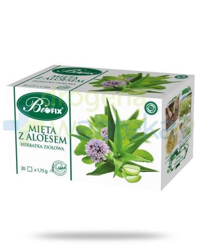 BiFix Mięta z aloesem herbatka ziołowa 20 torebek
