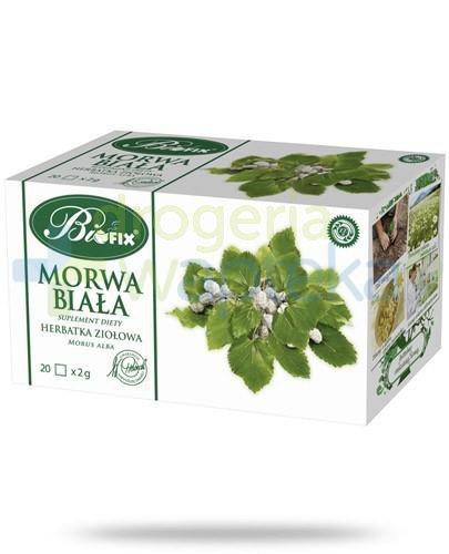 BiFix Morwa biała herbatka ziołowa 20 torebek