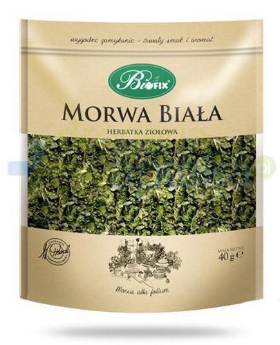 BiFix Monozioła Morwa biała herbatka ziołowa 40 g