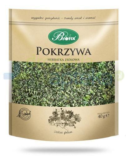 BiFix Monozioła Pokrzywa herbatka ziołowa 40 g