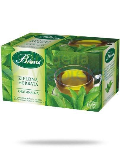 BiFix Zielona herbata oryginalna 20 saszetek
