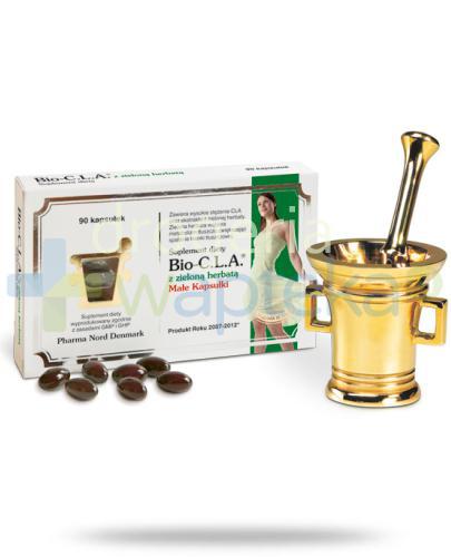 Bio-CLA z zieloną herbatą 90 kapsułek